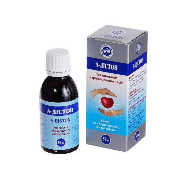 A-Diston (infusion of medicinal plant raw materials) drops for oral use 50 ml.