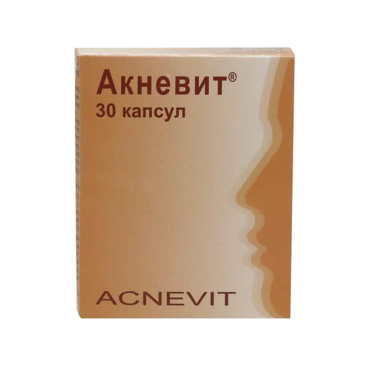 Acnevit capsules №30