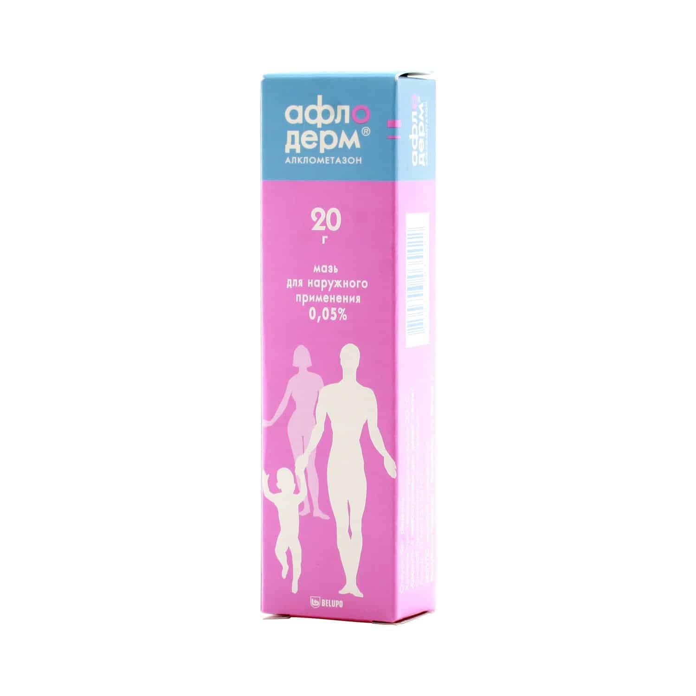 Afloderm (alclometasone) ointment 0.5 mg/g. 20 g. tube