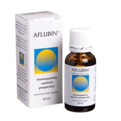 Aflubin (Aconitum D6) oral drops 20 ml.