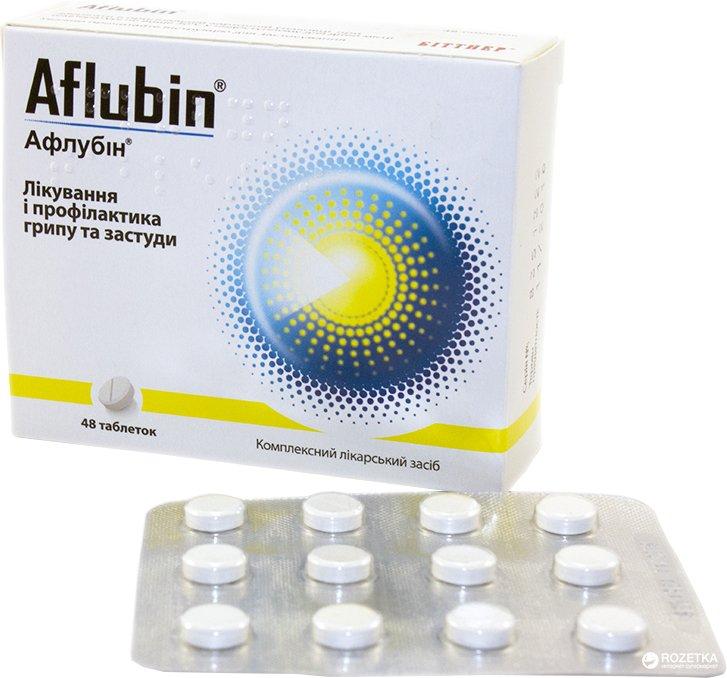 Aflubin (Aconitum D6) tablets №48