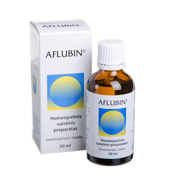 Aflubin (Aconitum D6) oral drops 50 ml.