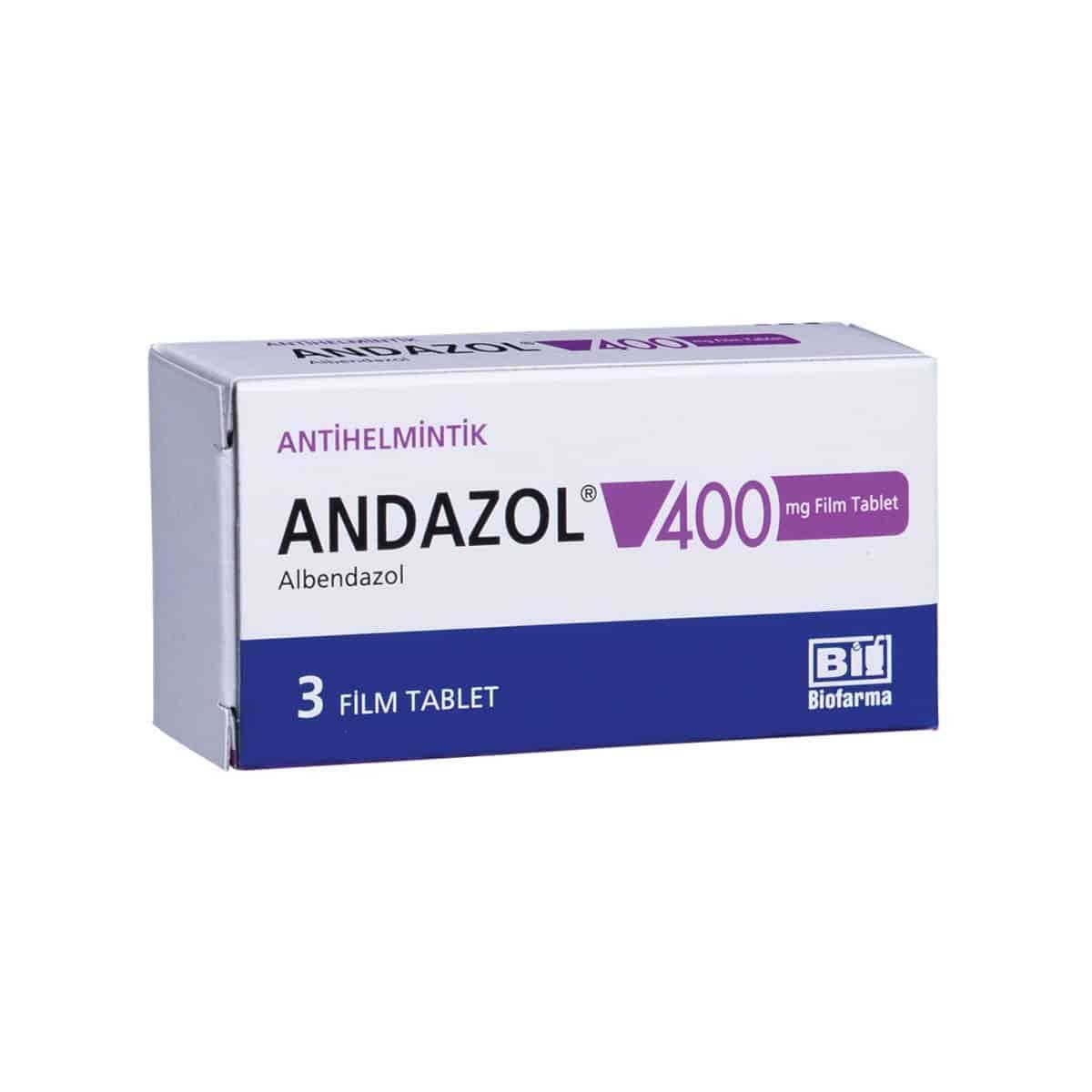 Aldazol (albendazol) coated tablets 400 mg. №3