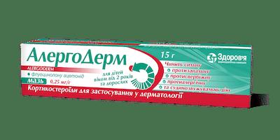 AlergoDerm (fluocinolon) ointment 0.25 mg/g. 15 g. tube