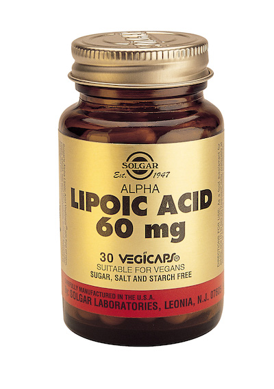 Alpha-lipoic acid (alpha-lipoic acid) capsules 60 mg. №30