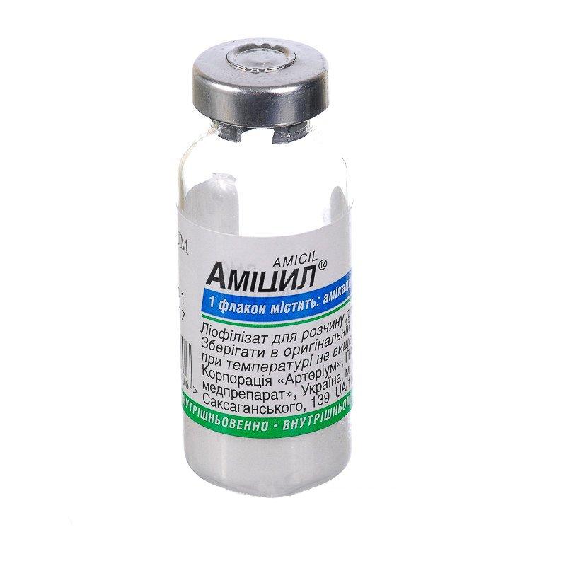 Amicyl (Amikacin) 1g. intravenous