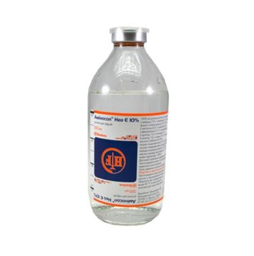 Aminosol NEO E 10pct 500 ml. №1 vial