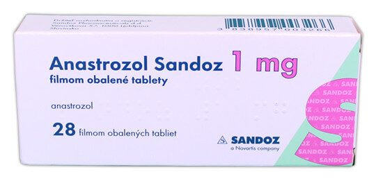 Anastrozol SAN (anastrozole) doses coated tablets 1 mg. №28