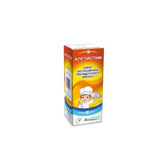 Apetistim (yarrow herbs) syrup 125 g. vial №1
