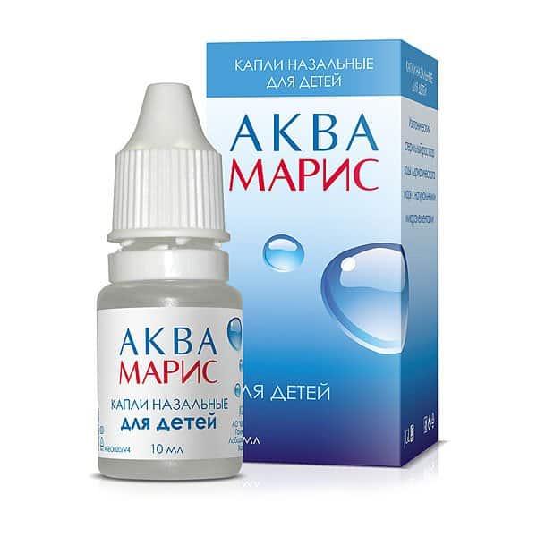 Aqua Maris (Isotonic sterile roschin of marine waters) nasal drops 10 ml. №1