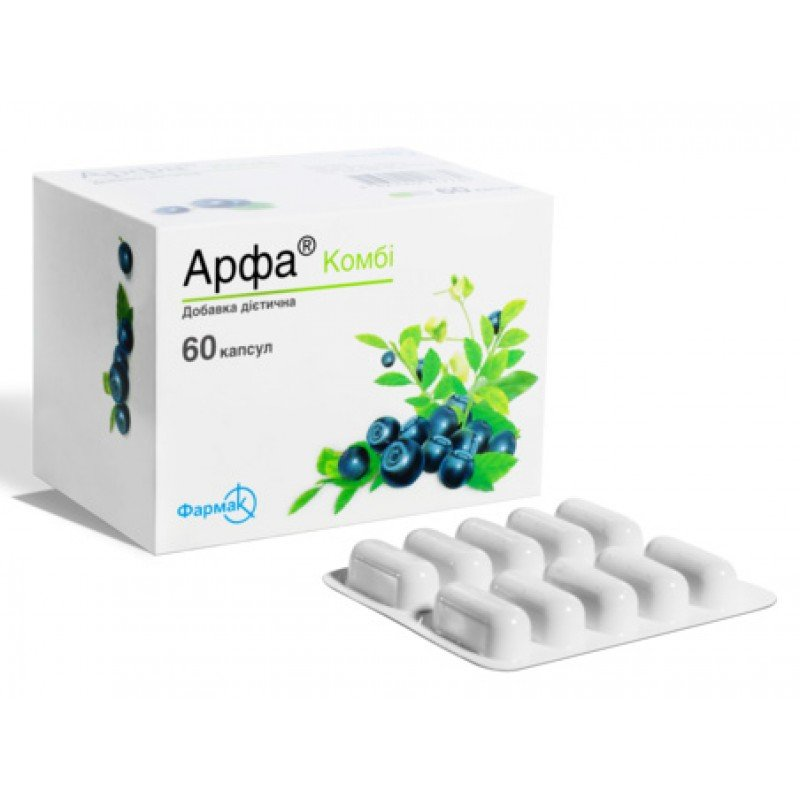 Arfa (taurine) Combi capsules №60