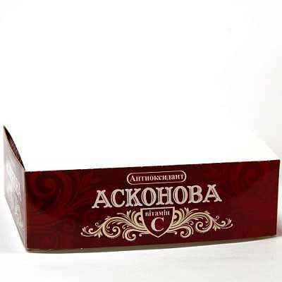 Asconova (ascorbic acid) Antioxydant №102