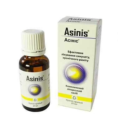 Asinis (Armoracia) oral drops 20 ml.
