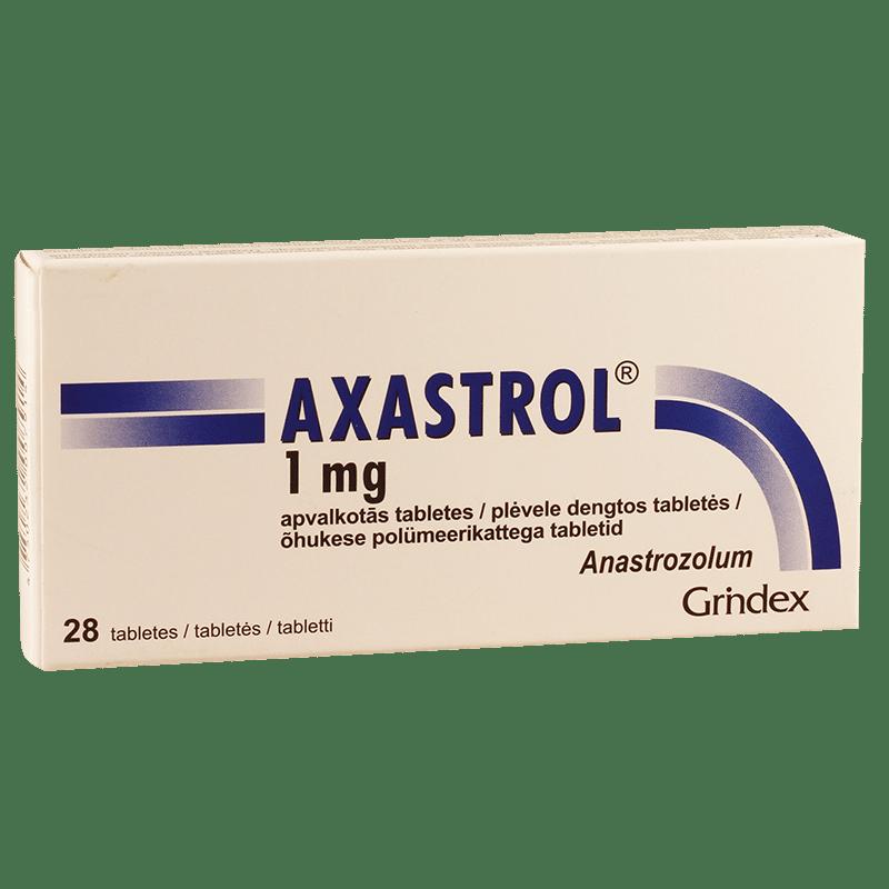 Axastrol (anastrozolum) coated tablets 1 mg. №28