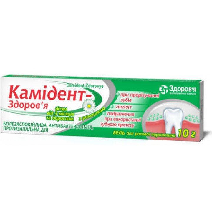 Camident (hydrochloride) gel 10 g.