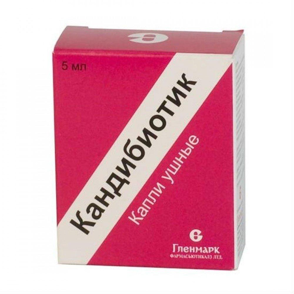 Candibiotik (chloramphenicol) ear drops 5 ml. №1