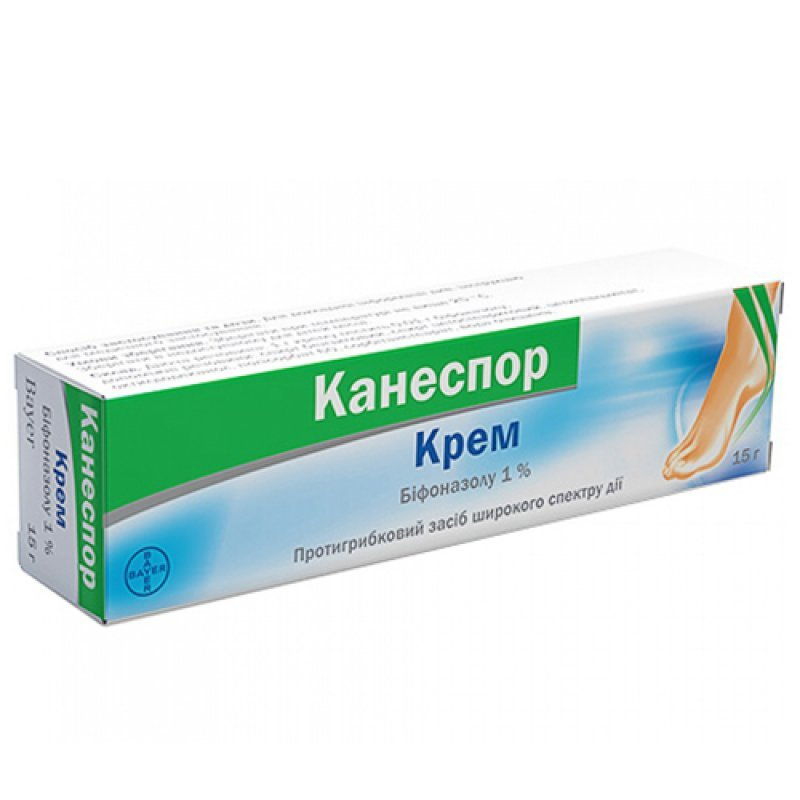 Canespor (bifonazole) cream 1% 15 g. tube