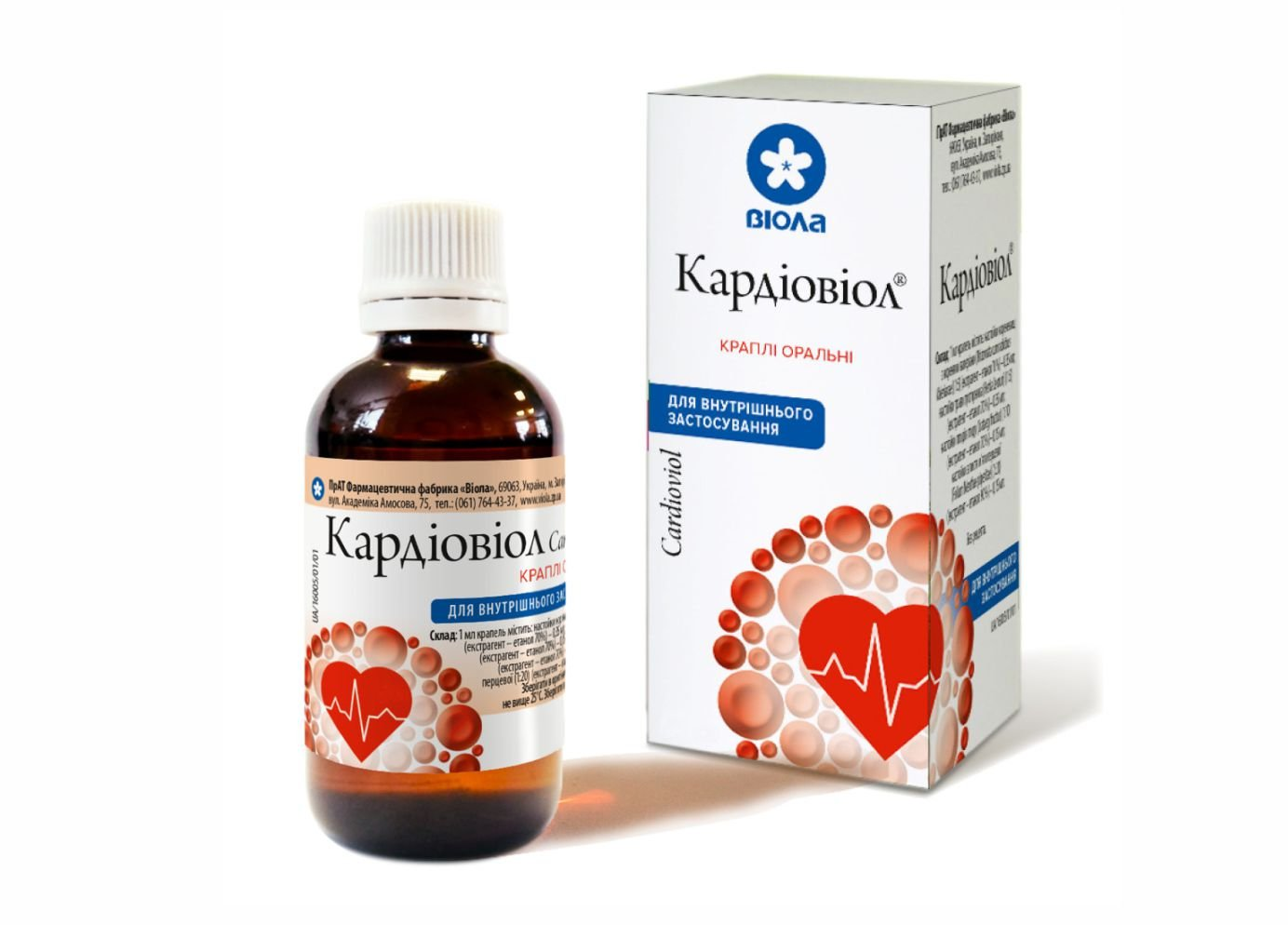 Cardioviol (Rhizomata cum radicibus Valerianae) 50 ml. vial