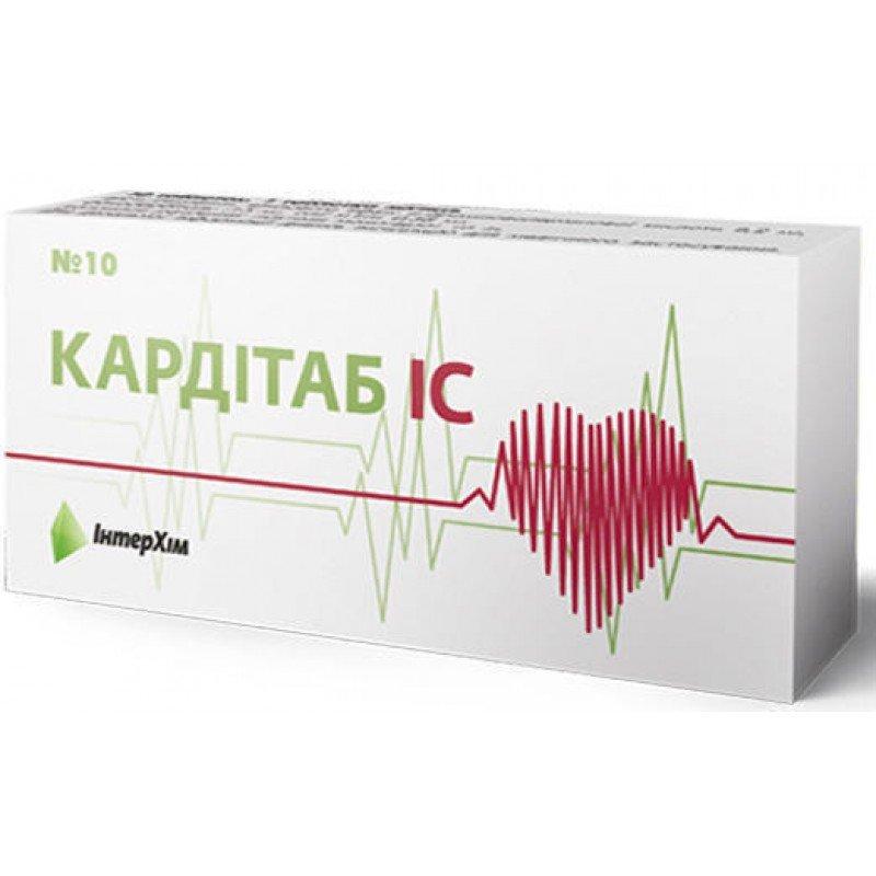 Carditab (phenobarbital) sublingual tablets №10