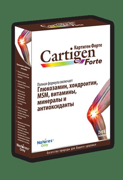 Cartidjen forte (glucosamine sulfate) tablets №30