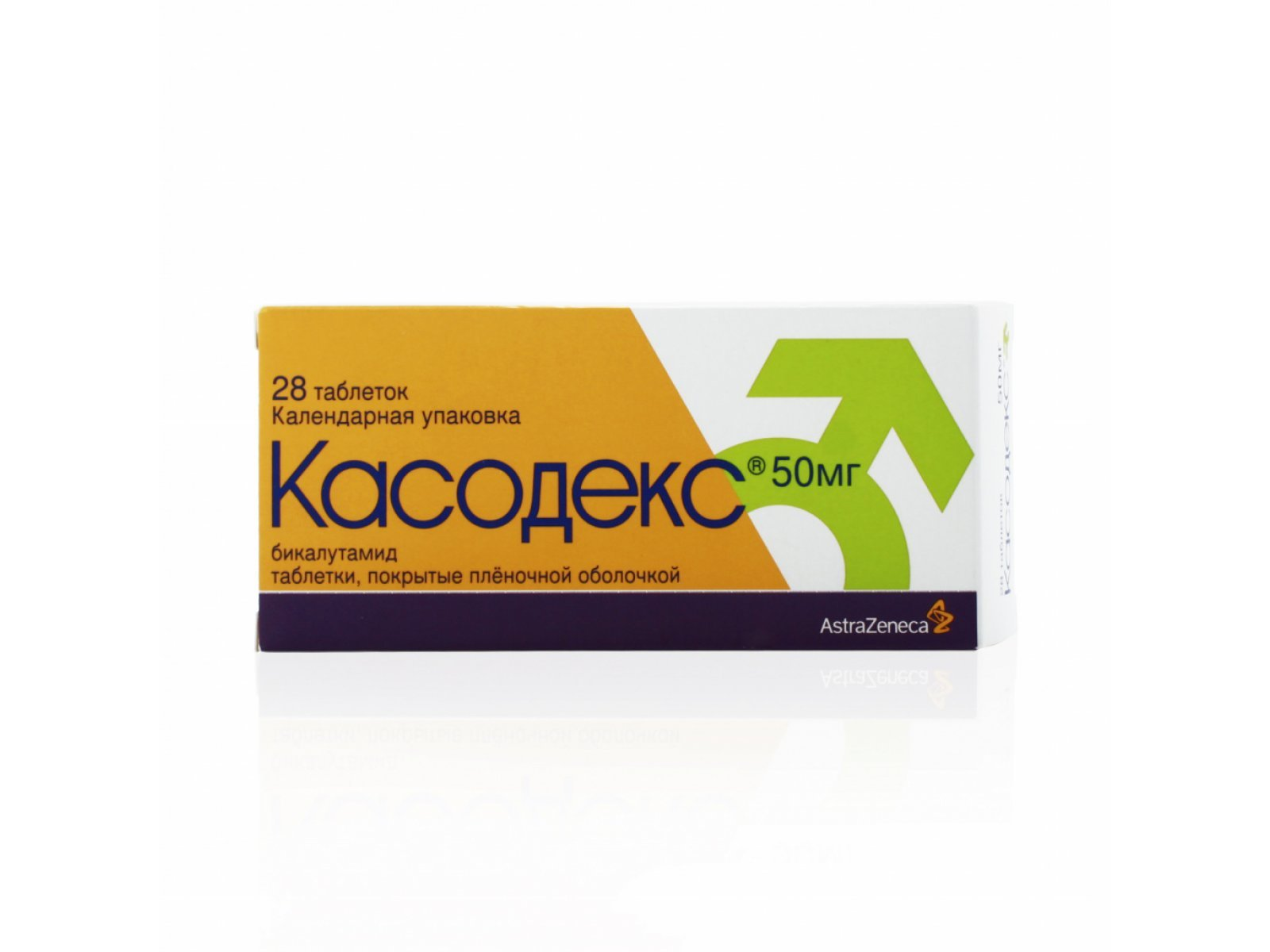 Casodex (bicalutamide) coated tablets 50 mg. №28