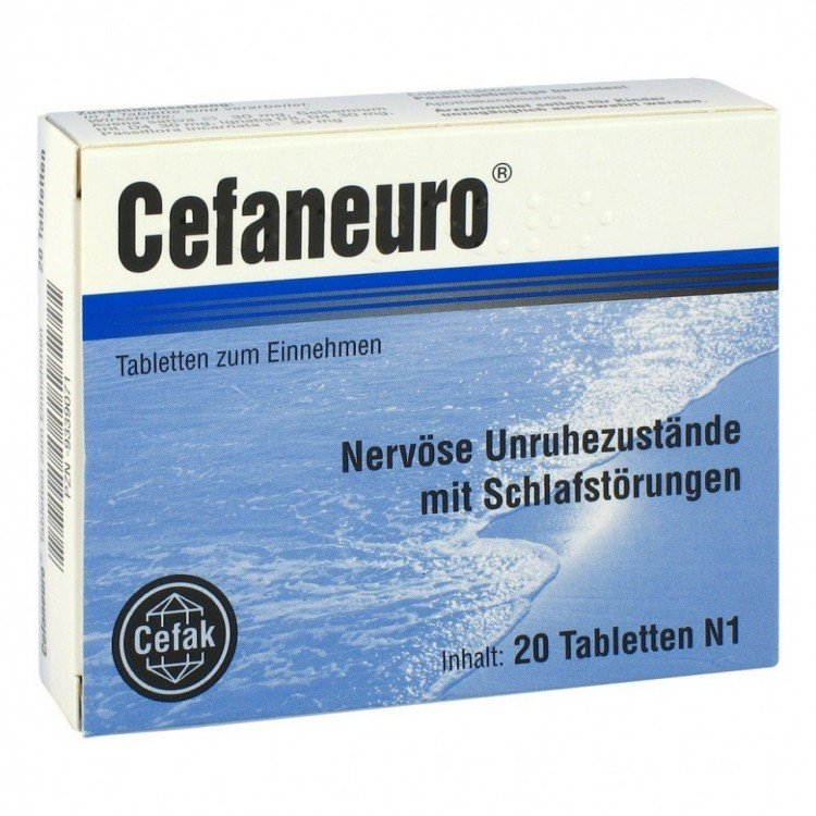 CefaNeuro (Avena sativa) tablets №20