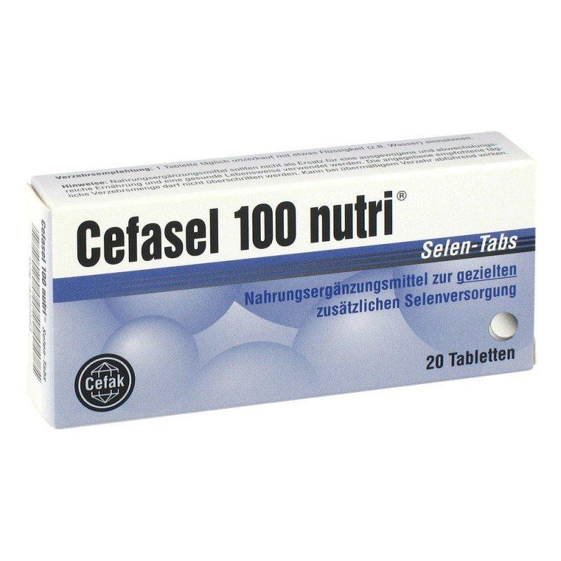 Cefasel (sodium selenite pentahydrate) tablets 100 mcg. №20