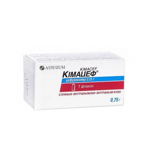 Cimacef (cefuroxime) 0.75 g. vial intravenous №1