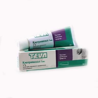 Clotrimazol-TEVA (clotrimazolum) vaginal tablets 200 mg. №3