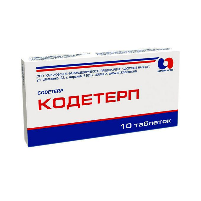 Codeterp tablets №10