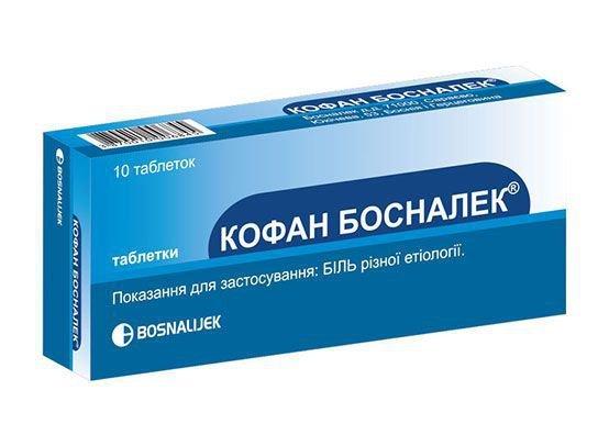 Cofan Bosnalek tablets №10