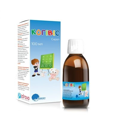 Cogyvis syrup 100 ml.