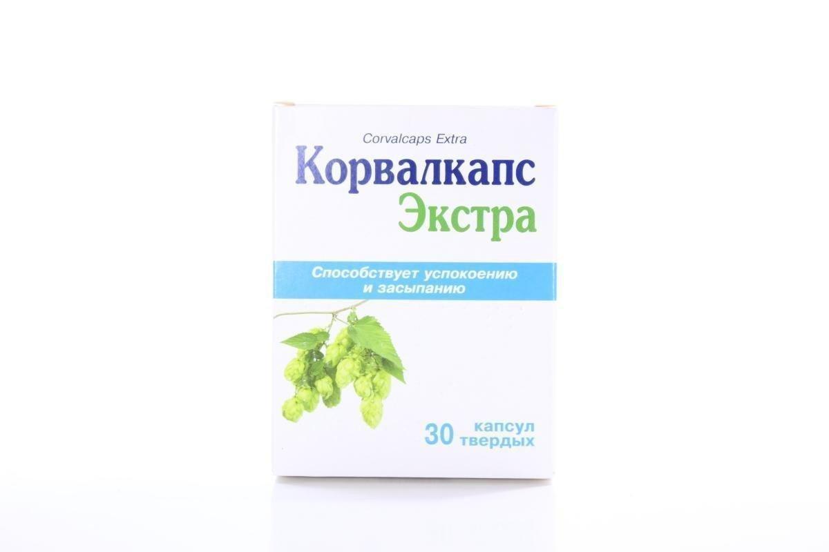 Corvalcaps (ethyl alpha-bromsulfaleinovy acid, phenobarbital) Extra hard capsules №30