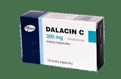 Dalacin K (clindamycin) capsules 300 mg. №16