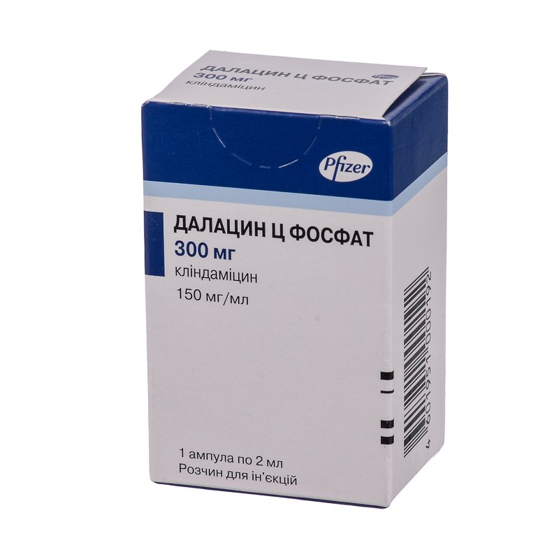 Dalacin K Fosfat (clindamycin) 150 mg/ml. 2 ml. №1