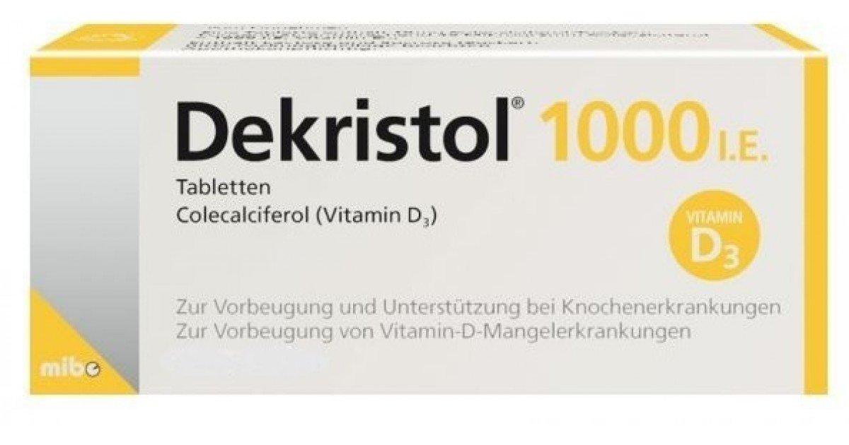 Decristol D3 (vitamin D3) 1000 MO drops 25 ml.