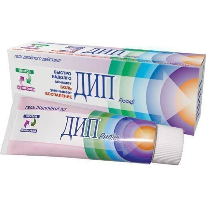 Deep Relief (ibuprofen, levomenthol) gel 100 g. tube