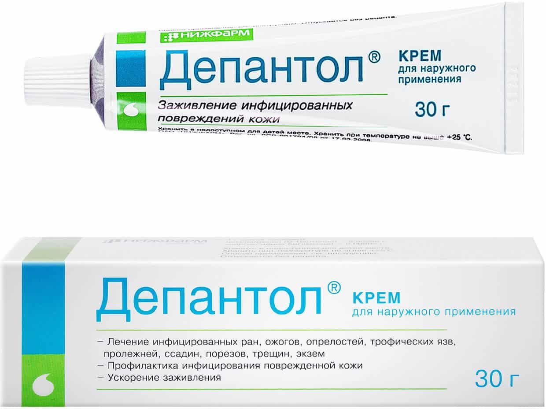 Depapilin (dexpanthenol (d-panthenol), chlorhexidine bigluconate) 395 mg. №30