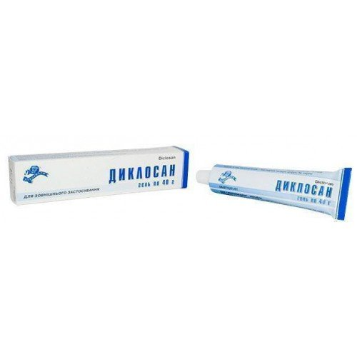 Diclosan (diclofenac sodium) gel 40 g.