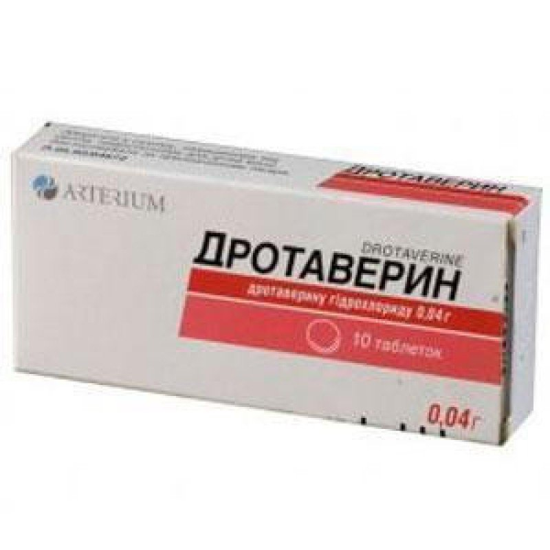 Drotaverin tablets 0.04 g. №10