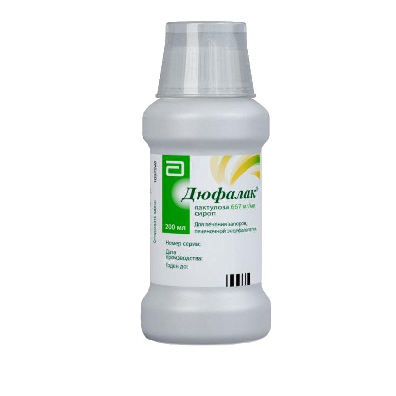 Dufalak (lactulose) syrup 200 ml.