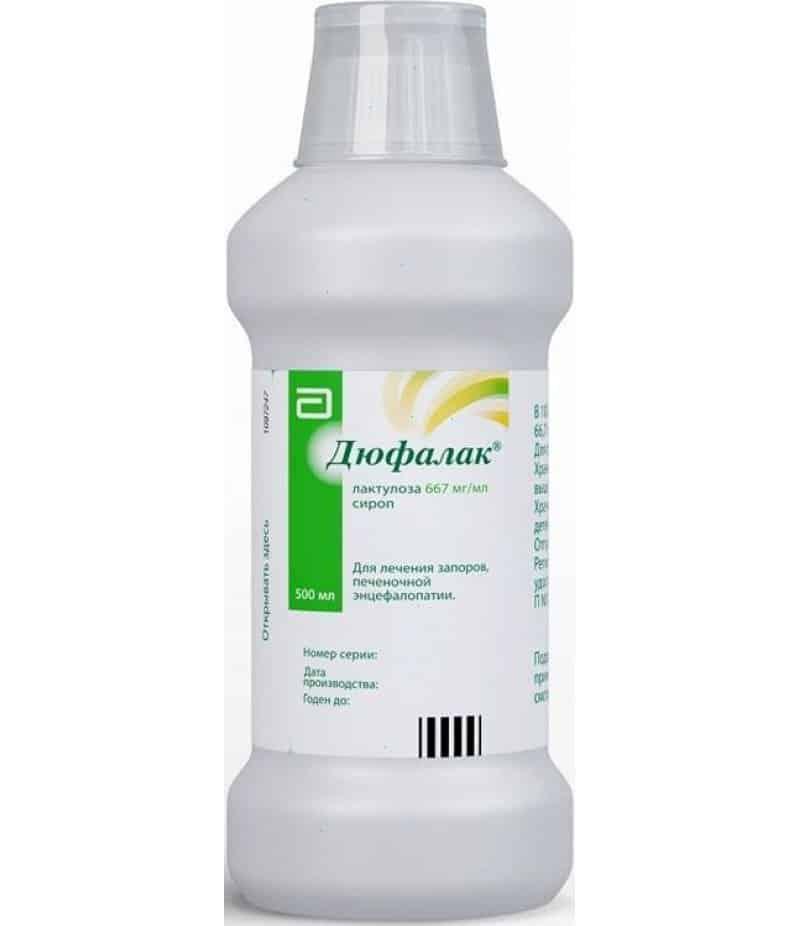 Dufalak (lactulose) syrup 500 ml.