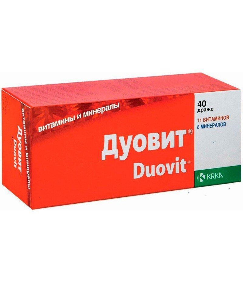Duovit coated tablets №40