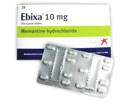 Ebixa (memantine) coated tablets 10 mg. №28