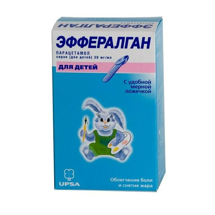 Efferalgan (paracetamol) oral solution 3% 90 ml. vial