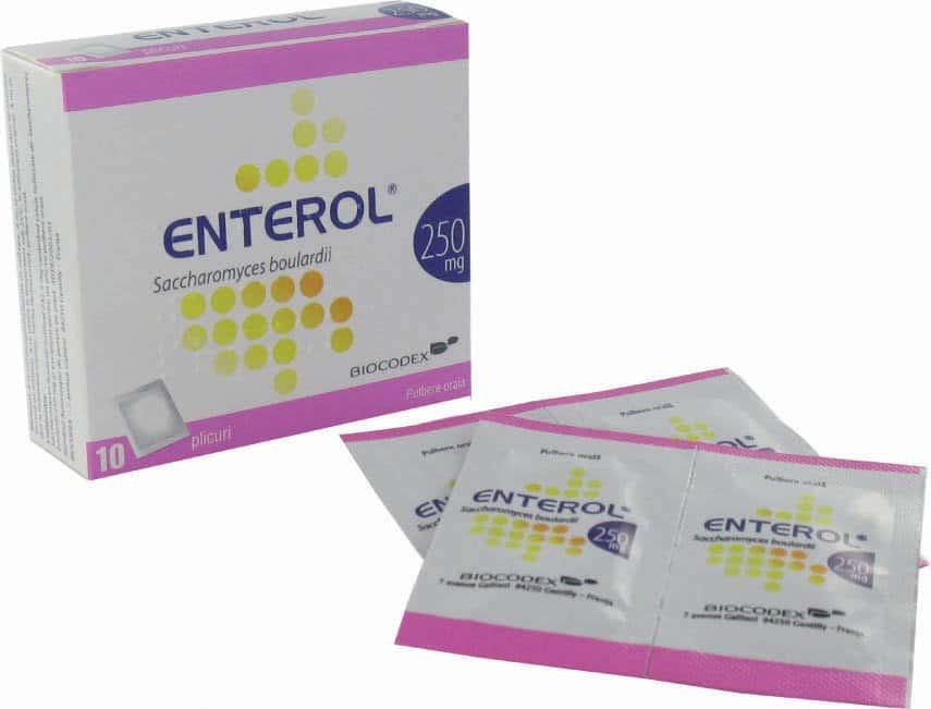Enterol (saccharomyces boulardi) powder 250 mg. №10