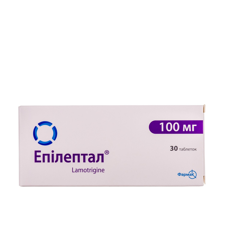 Epileptal (lamotrigine) tablets 100 mg. №30
