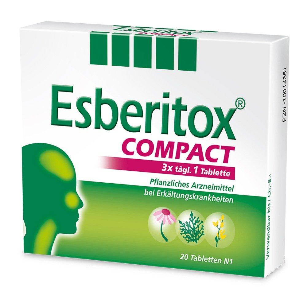 Esberitox tablets 3.2 mg. №40