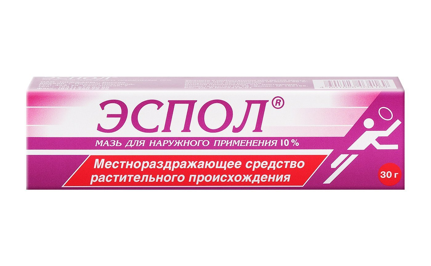 Espol ointment 30 g. tube for external use