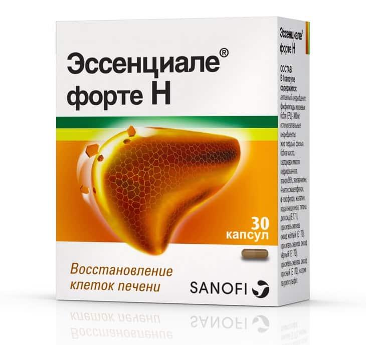 Essentiale forte N capsules №30